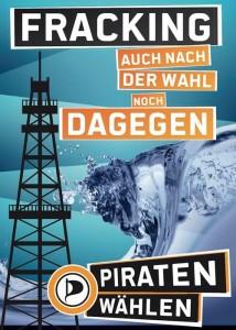 Fracking-Plakat